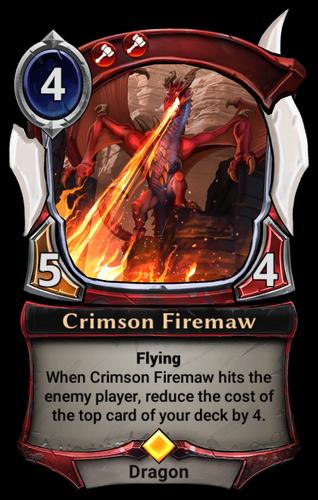 Crimson Firemaw card
