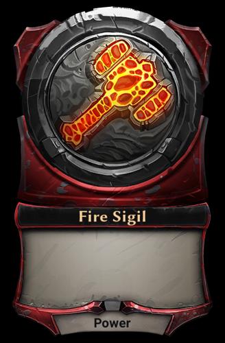 Fire Sigil card