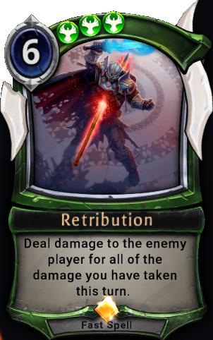 Retribution (beta) card