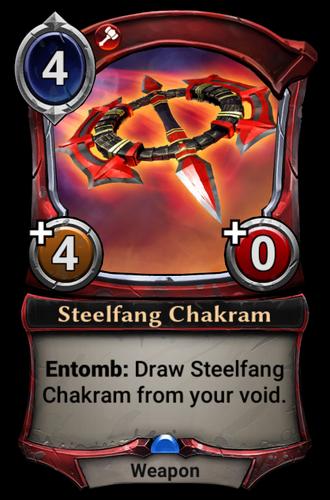 Steelfang Chakram card