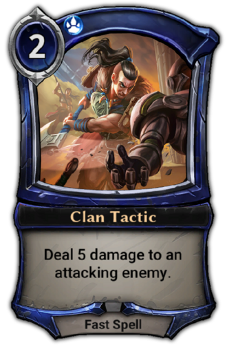 Clan Tactic card