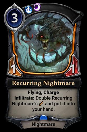 Recurring Nightmare card