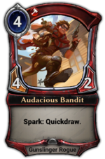 Audacious Bandit