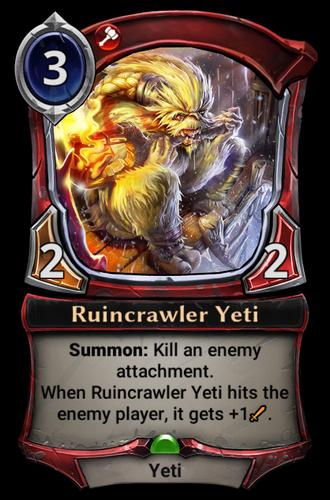 Ruincrawler Yeti card