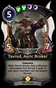 Tavrod, Auric Broker