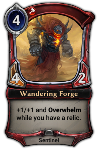 Wandering Forge card