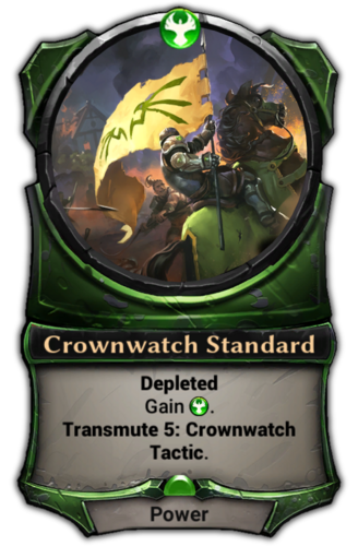 Crownwatch Standard card