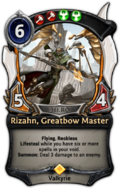 Rizahn, Greatbow Master
