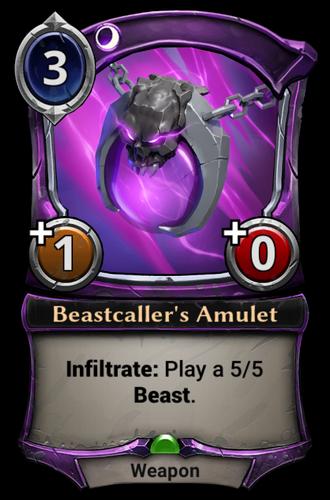 Beastcaller's Amulet card