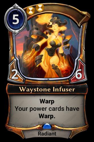 Waystone Infuser card