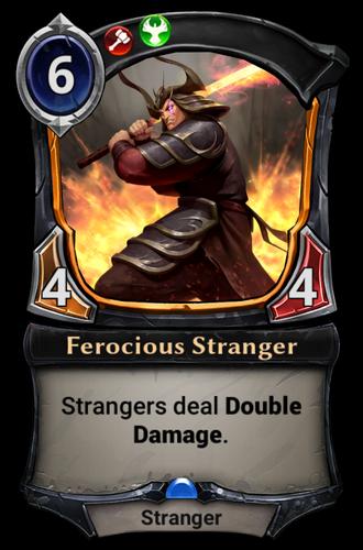 Ferocious Stranger card