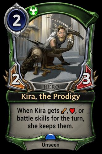 Kira, the Prodigy card