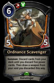 Ordnance Scavenger