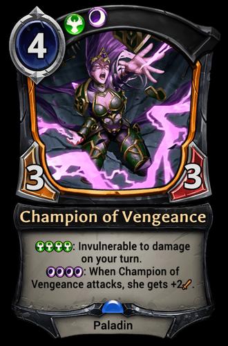 Champion of Vengeance card