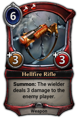 Hellfire Rifle card