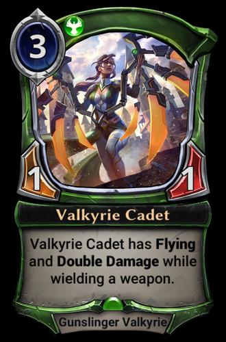 Valkyrie Cadet card