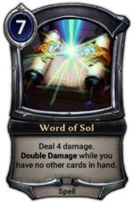 Word of Sol
