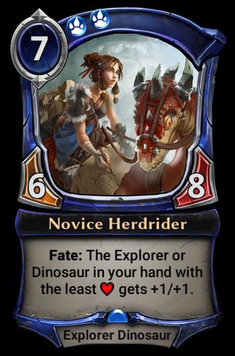 Novice Herdrider card