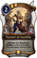 Teacher of Humility