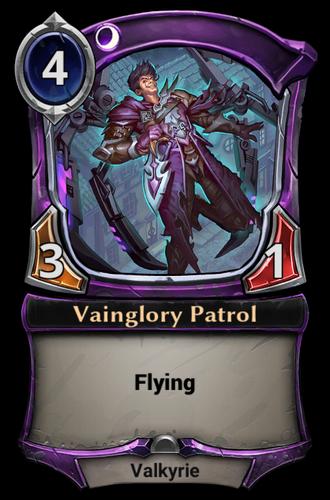 Vainglory Patrol card