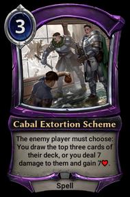 Cabal Extortion Scheme