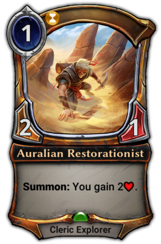 Auralian Restorationist card