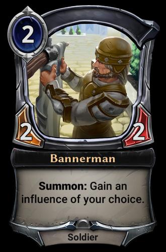 Bannerman card