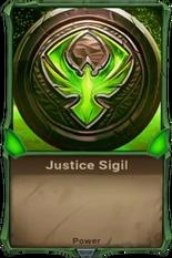 Justice Sigil Alpha