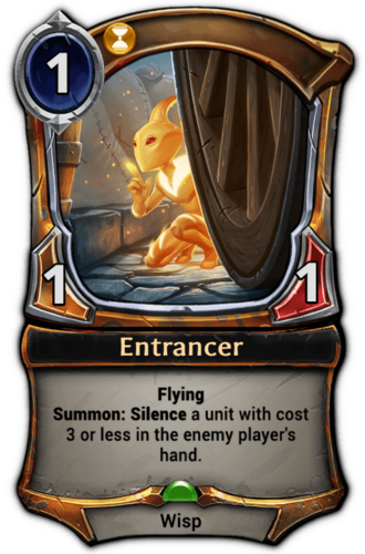 Entrancer card