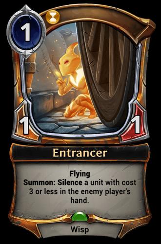 Entrancer card