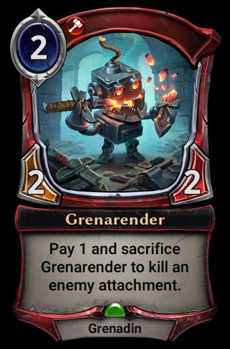 Grenarender card