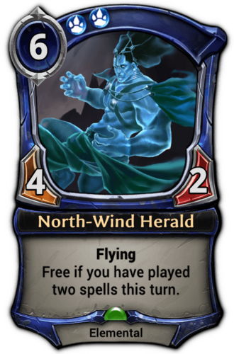 North-Wind Herald card