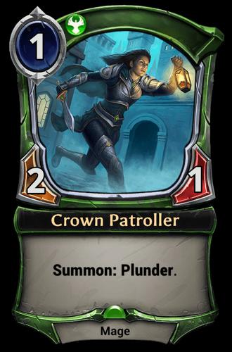 Crown Patroller card