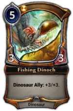 Fishing Dinoch
