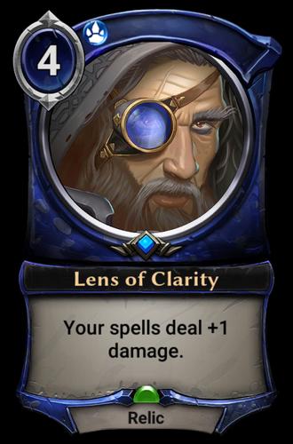 Lens of Clarity card