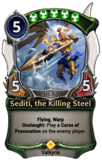 Sediti, the Killing Steel