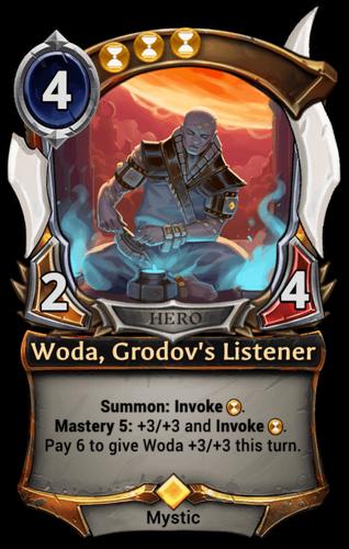 Woda, Grodov's Listener card