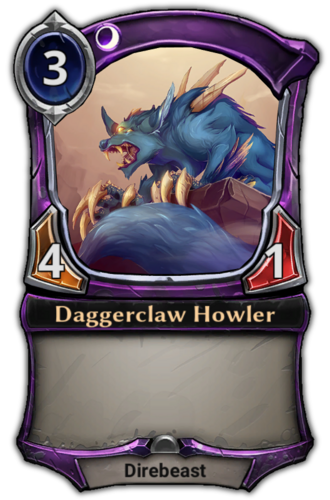 Daggerclaw Howler card