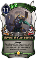 Sigvard, the Last Bastion