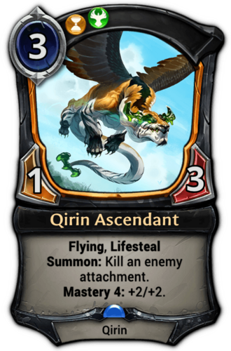 Qirin Ascendant card