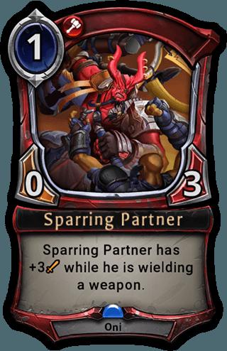 Sparring Partner card