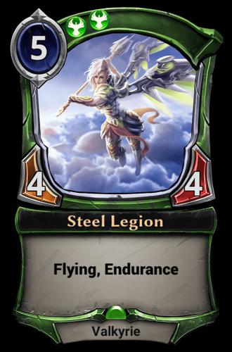 Steel Legion card