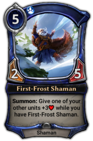 First-Frost Shaman