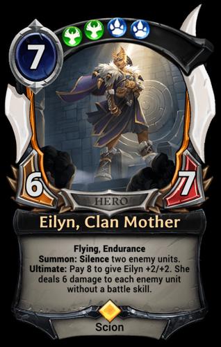 Eilyn, Clan Mother card