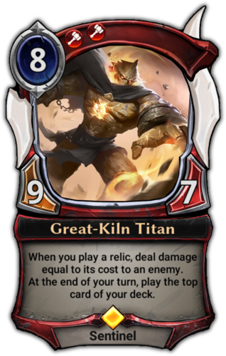 Great-Kiln Titan card