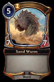Sand Wurm