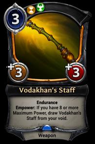 Vodakhan's Staff