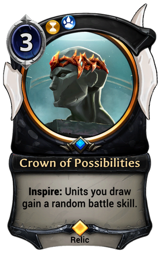 Crown of Possibilities card