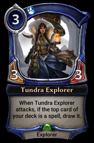 Tundra Explorer card