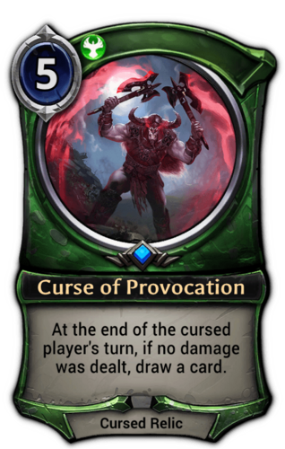 Curse of Provocation card